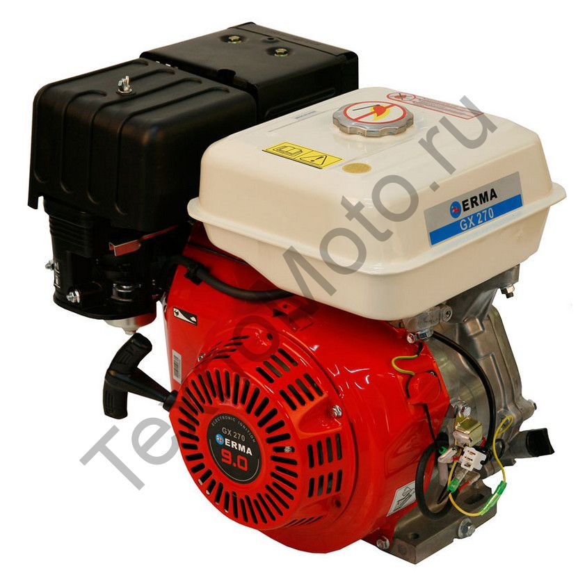 Двигатель Erma Power GX270 D20(9 л. с.) катушка освещения 60Вт, аналог Honda GX270